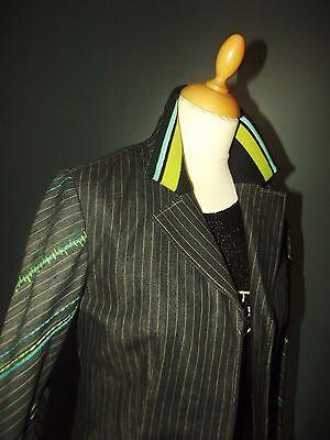 Kenzo veste trendy bimatiere mi saison  bayadere 4 boutons 38