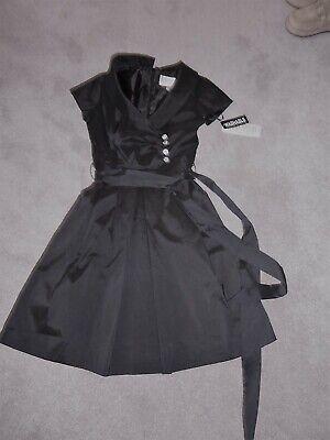"New ""JULIAN TAYLOR"" black dress size 10"