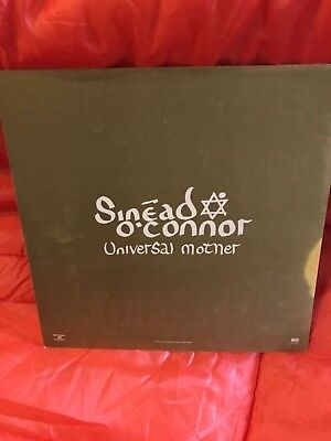 RARE Sinead O'Connor Universal MOTHER PRomO POster FLAt 2-sidED 12 x 12