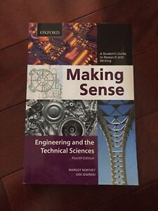 Making Sense - Engineering and the Technical Sciences
