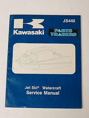 NOS Kawasaki Watercraft Dealer Service Repair Manual Jet Ski JS440 1982 1983