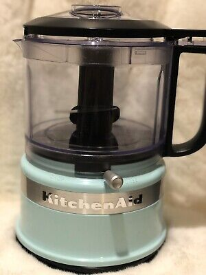 ⚡️KitchenAid 3.5-Cup Mini Food Processor | Ice Blue FAST FREE SHIPPING ⚡️