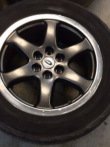 20 X 8.5 inch Roush Ford 150 rims great condition.