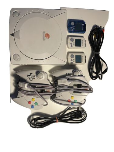Sega Dreamcast Launch Edition White Console NTSC Soul Calibur Included - $100.00