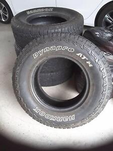 4WD tyres x4 Woodville Port Stephens Area Preview