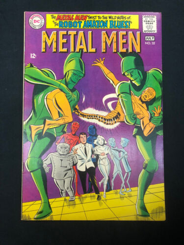 Metal Men #32 (1963 1st Series) DC Comics June 1968 Silver Age