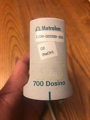 Metrohm 700 Dosino Dosing Titrator Top Head Only segunda mano  Embacar hacia Argentina