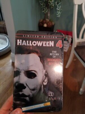 Halloween 4: The Return of Michael Myers (DVD, 2001, Limited Edition Tin Case)