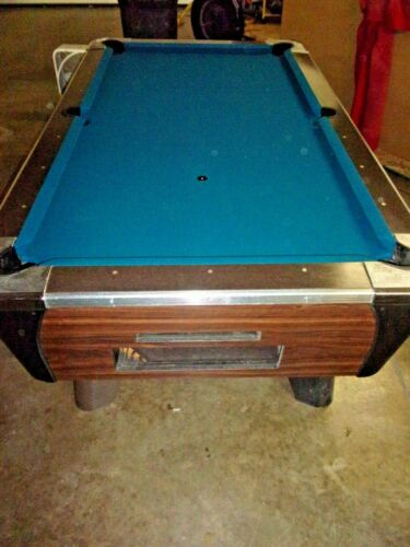 Valley 7 ft. coin op pool table  #PT265