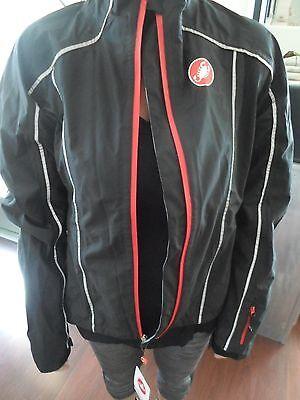 9409d7edb Women s DONNA Castelli Water Rain Resistant Cycling Jacket Full Zip (L)  NWT S