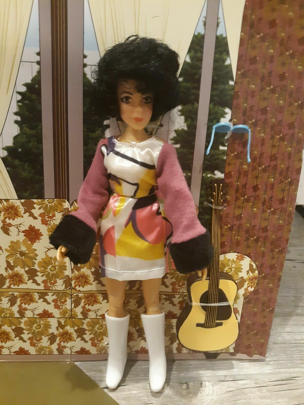 """2018 MEGO Bewitched  SERENA  8"""" Poseable Doll Action Figure"""