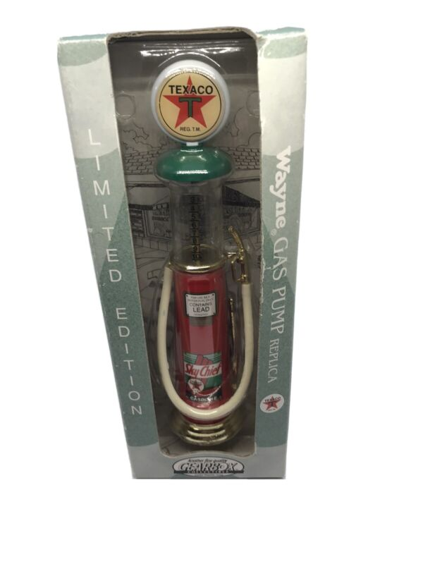 1997 Gearbox Collectibles Texaco Sky Chief Wayne Gas Pump Limited Edit NEW 07529