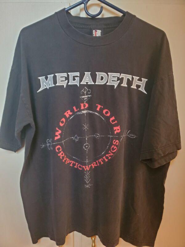 Vintage Authentic Megadeth 1998 World Tour Shirt XL
