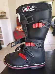 AXO junior Motorcross Boots US size 5 Ashmore Gold Coast City Preview