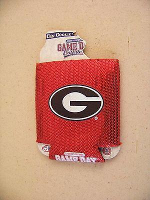 University of Georgia Bulldogs soft can insulator holder coozie koozie -