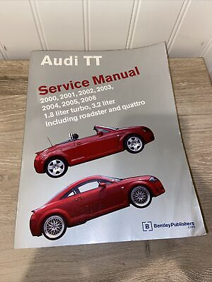 AUDI TT SHOP MANUAL SERVICE REPAIR BOOK BENTLEY QUATTRO