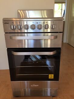 Chef CFE547SB 54cm Freestanding Electric Stove/Oven