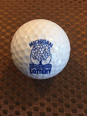 Logo Golf Ball Michigan Lottery