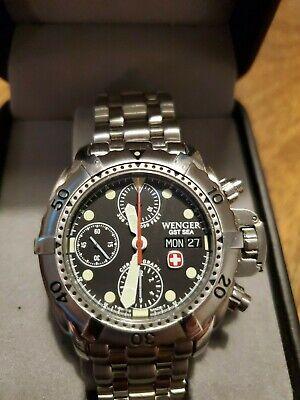 Wenger 78189 Automatic watch Valjoux ETA 7750 GST Sea series BRAND NEW