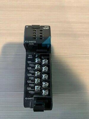 Automation Direct Plc Direct F2-04rtd 4-channel Rtd Input Module