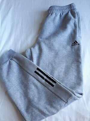 ADIDAS Men's grey joggers M tracksuit bottom sweat pants