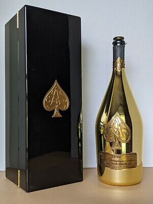 Ace of Spades Brut (Armand De Brignac) 1.5L Magnum Empty Bottle & Box
