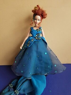"Effanbee Doll Brenda Starr 1998 toy Tonner evening dress Fashion 16"" green teal"