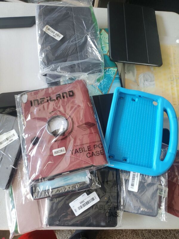 Wholesale lot Of Amazon Returns cases tablet cases read