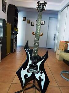 BC Rich Bronze Series Warlock Tribal Nerang Gold Coast West Preview