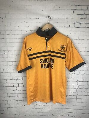 Alloa Athletic FC Home Football Shirt 1990-1991 1991- 1992 Rare A64 image