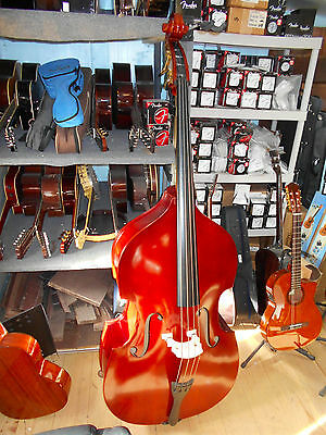 Palatino 3/4 Size Upright Bass w/ Bow and Carrying Bag
