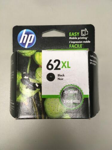 C2P05AN-Genuine HP 62XL High Yield Black Ink Cartridge, Dated 02/2021, OEM
