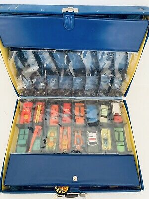 Lot of Vintage 70's Matchbox + Hot Wheels + 1966 Lesney Case