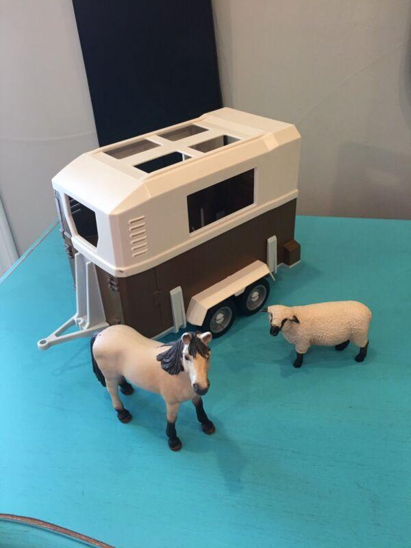 Schleich Horse Trailer Horse Sheep