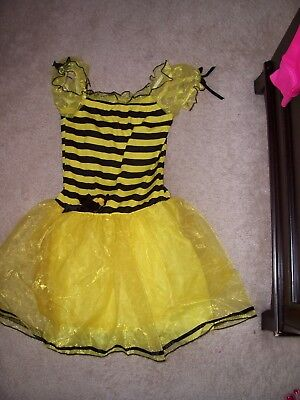 ADULT LADIES - SMALL BLACK & YELLOW BUMBLEBEE DRESS