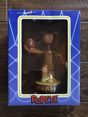 Los Angeles Lakers Team Store - POPEYE LOS ANGELES LAKERS VINTAGE 2002 Bobble head Exclusive To Team LA Stores