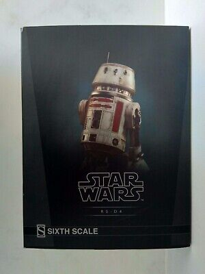 Star Wars Sideshow R5-D4 Droid Sixth Scale Figure. delivery via special delivery