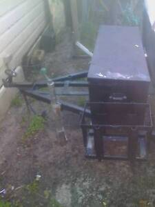 $1000 topagee pop top camper trailer needs work Toukley Wyong Area Preview