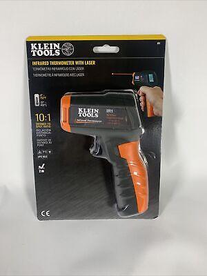 Klein Tools Infrared Digital Thermometer Targeting Laser 101 Temperature Tool