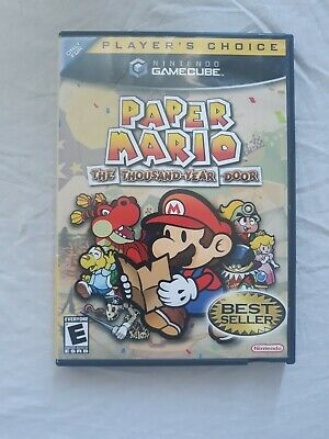 Paper Mario: The Thousand-Year Door (GameCube, 2004) Complete Box CIB, Authentic