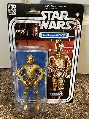 "Star Wars Black Series 40th Anniversary See-Threepio (C-3PO) 6"""
