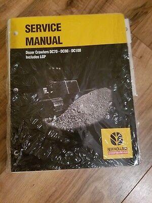 New Holland Service Manual Dozer Crawler Dc70dc80dc100includes Lgp