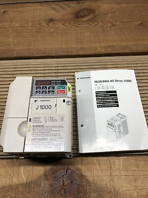 Yaskawa J1000 Cimr-jc4a0002baa 2.2kw1.5kw 0-400hz Used Out Of Working Machine