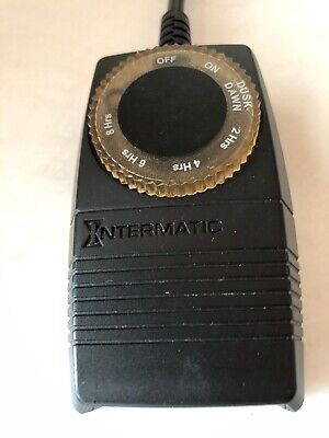 Intermatic Photoelectric Switch Timer Appliance Control Model Hb51r
