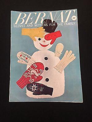 Винтажные Vintage Bernat Gloves and Mittens