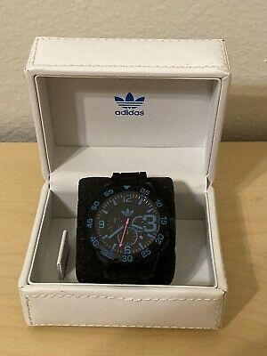 MEN'S WATCH ADIDAS MODEL ADH2886 BLUE DIAL SPORT STYLE