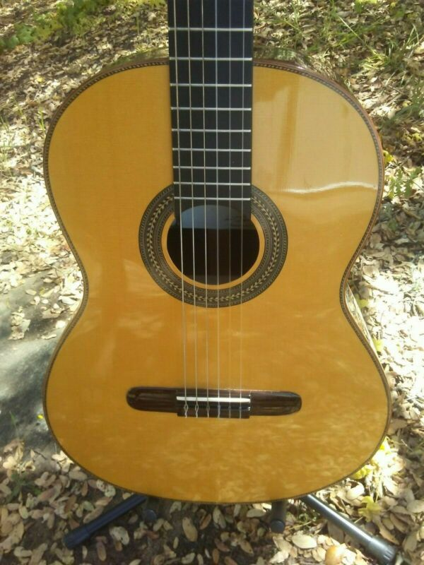 Renato Bellucci Classical guitar DOUBLE TOP