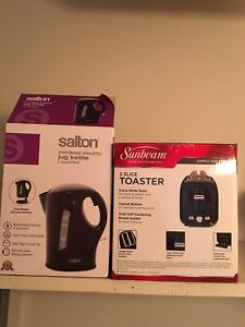Kettle and Toaster each $5