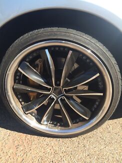 Wheels to suit wrx 5x100 19 inch Whyalla Stuart Whyalla Area Preview