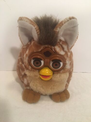 1999 Tiger Furby Buddy Girafe Beanie Plush Toy. Excellent Condition - $19.99
